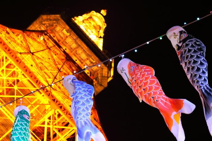 【東京タワーの鯉のぼり】_f0348831_00374446.jpg