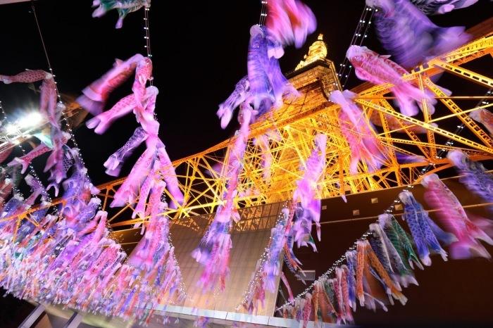 【東京タワーの鯉のぼり】_f0348831_00544752.jpg