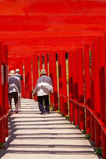 元乃隅稲成神社へ_d0327373_08365472.jpg