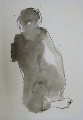 宮本信代 墨の裸婦_a0131787_14102262.jpg
