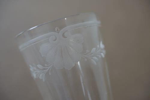 French silver & glass 掛け花入 No:7_c0108595_13382920.jpg
