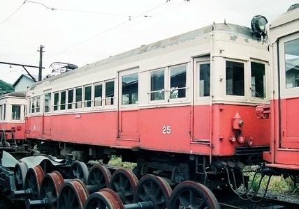 野上電気鉄道 モハ20形25~27_e0030537_01000372.jpg