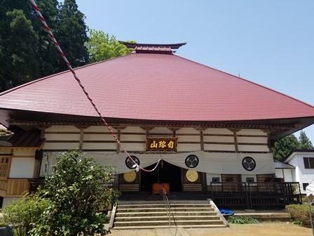 GW前半 長野県への犬連れ車中泊の旅 天然寺編_b0080342_21213097.jpg