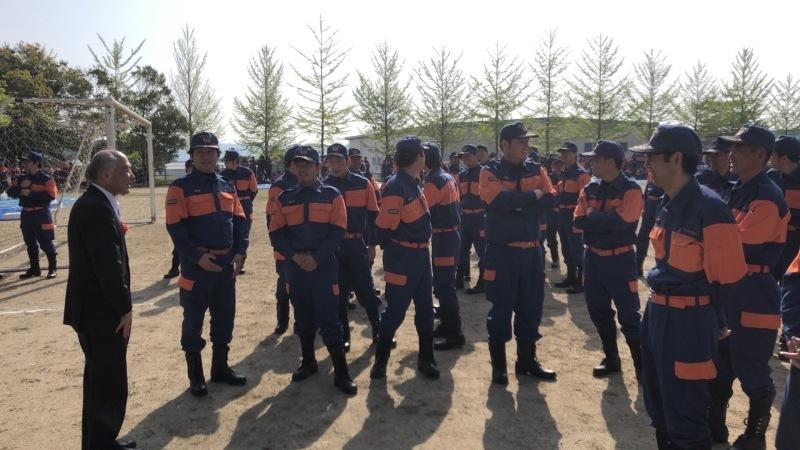 2018.4.29 いわき市消防団春季検閲式_a0255967_10375411.jpg