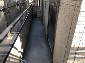 ベランダFRP防水工事(狭山市)_c0183605_19395313.jpg