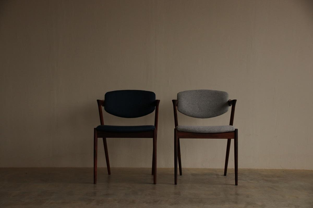 『S様邸へ Kai Kristiansen dining chair(Rosewood) No.42』_c0211307_01394883.jpg