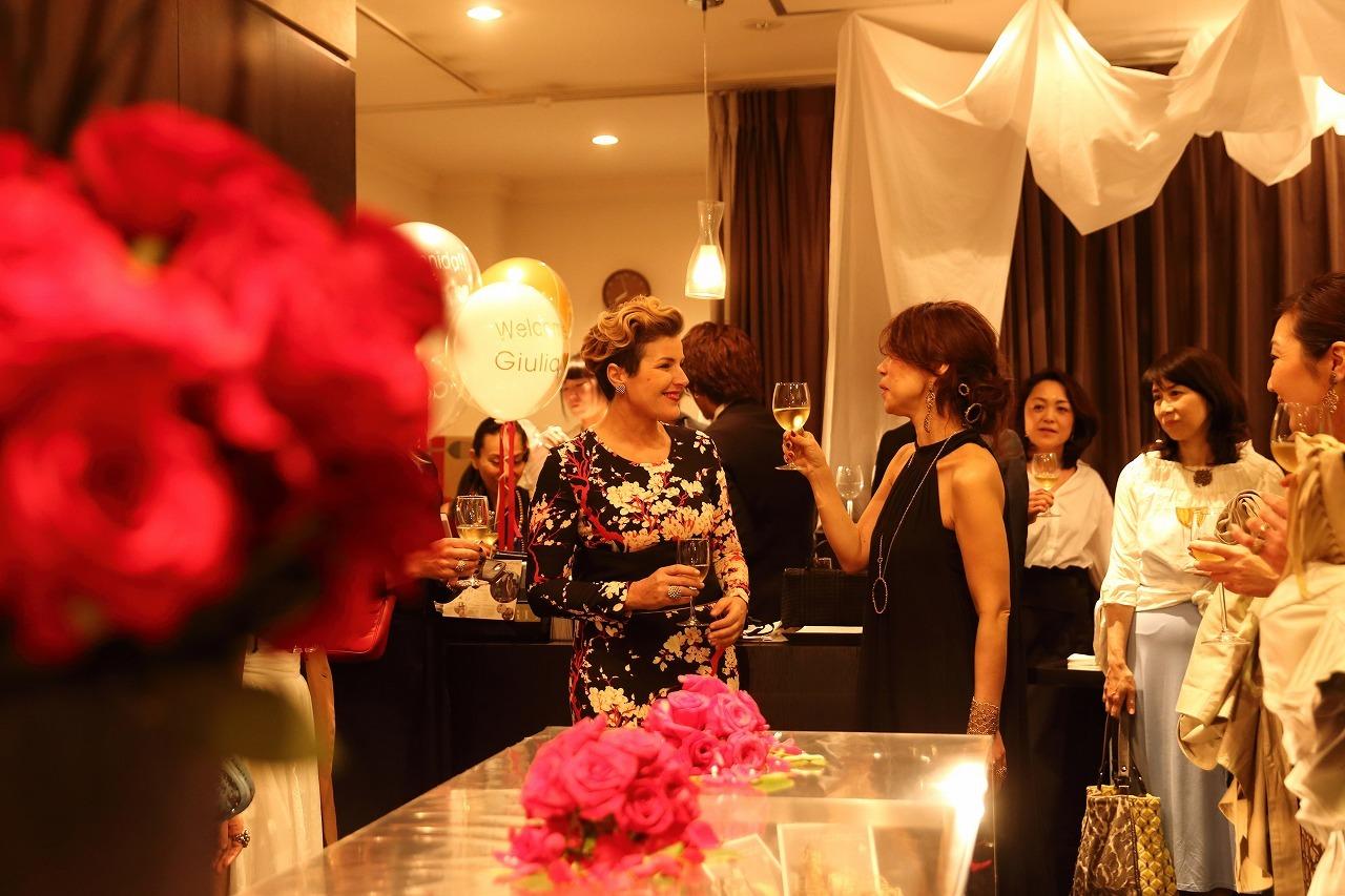 Daniela de Marchi Welcome Party ご報告☆_b0115615_18210974.jpg