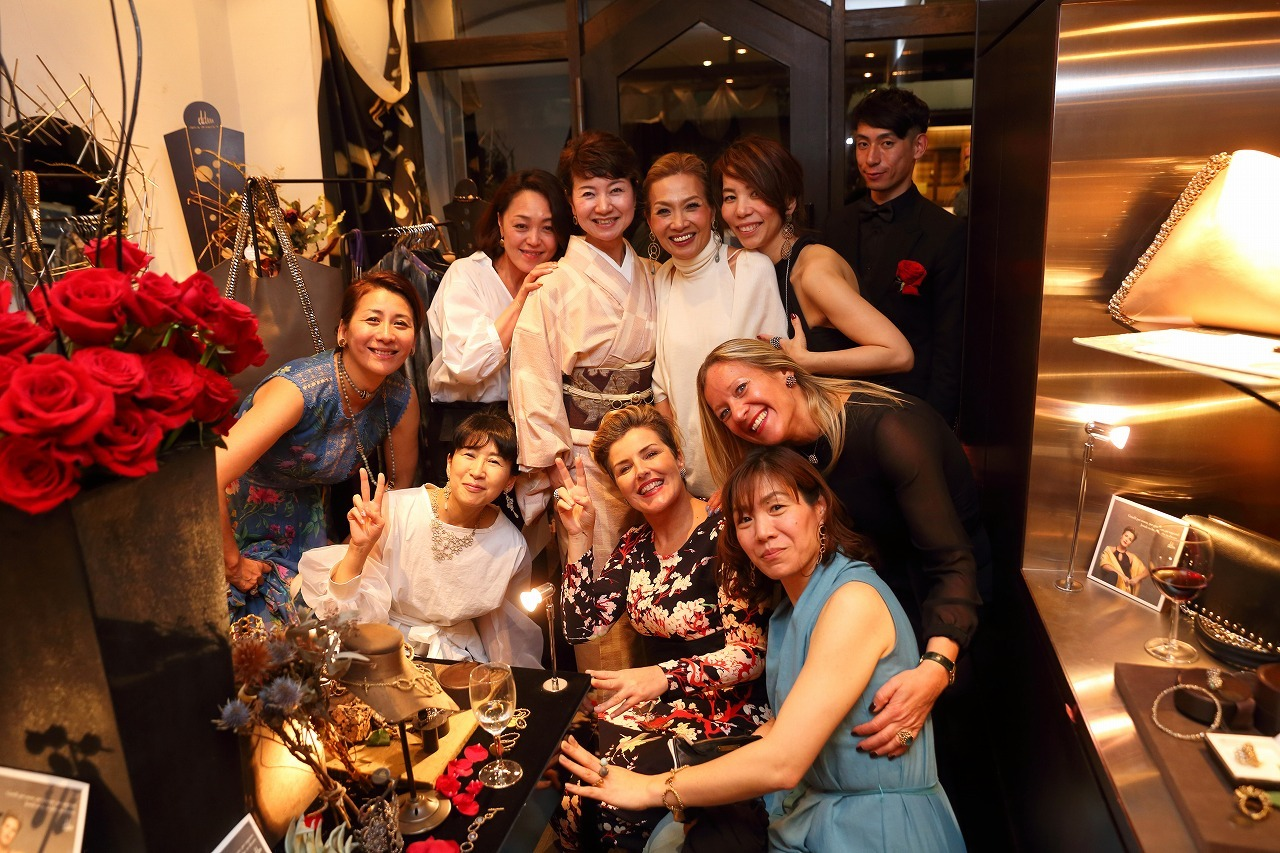 Daniela de Marchi Welcome Party ご報告☆_b0115615_18323911.jpg