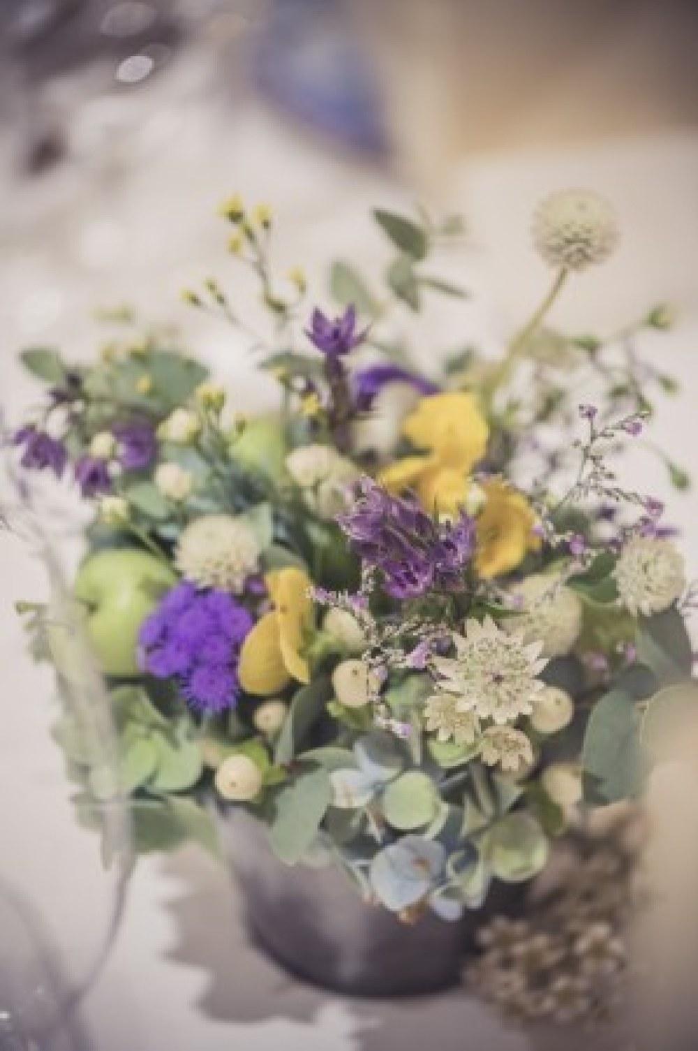 新郎新婦様からのメール 秋の装花 リストランテASOの花嫁様より_a0042928_01383735.jpg