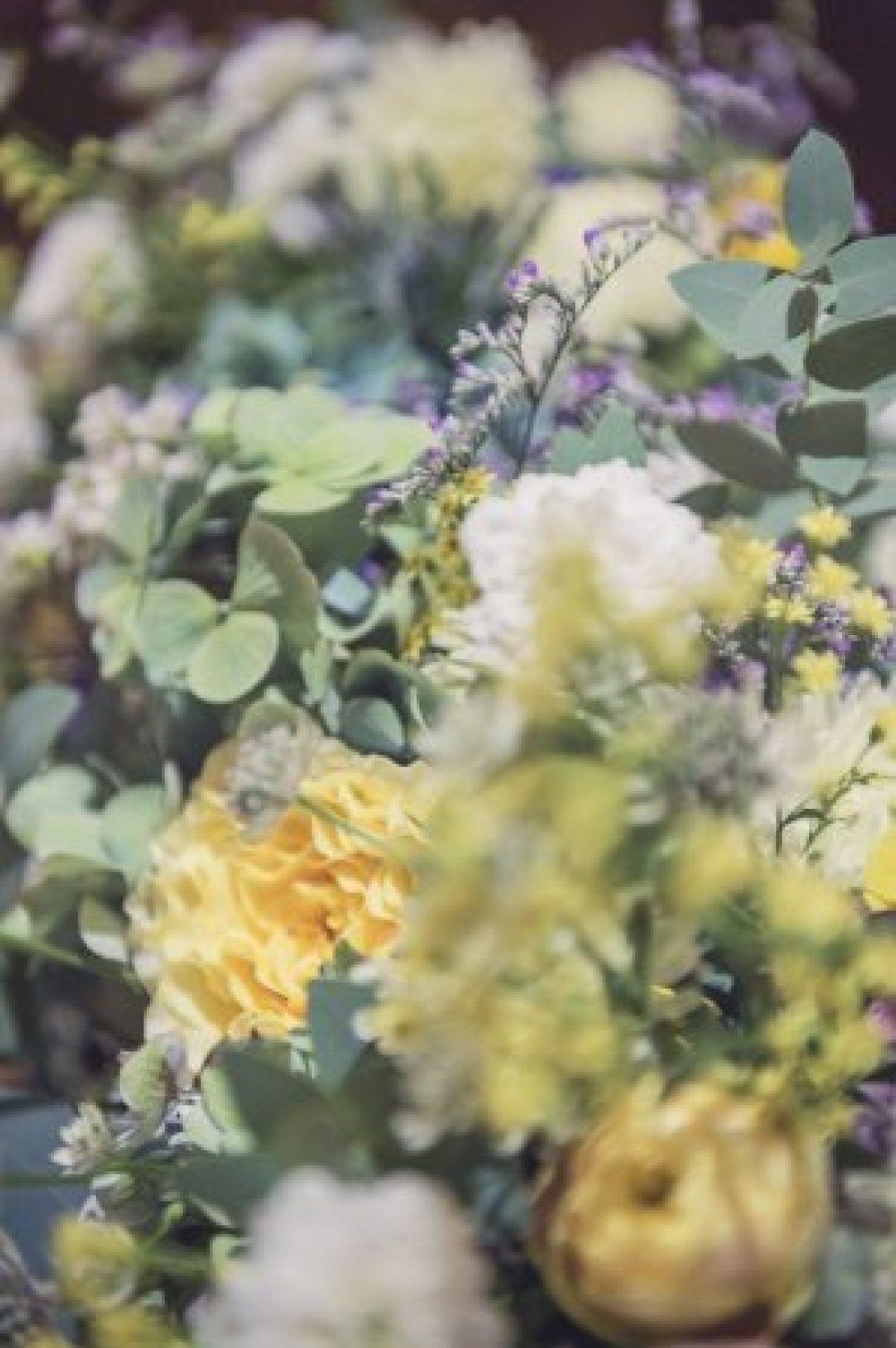 新郎新婦様からのメール 秋の装花 リストランテASOの花嫁様より_a0042928_01385137.jpg