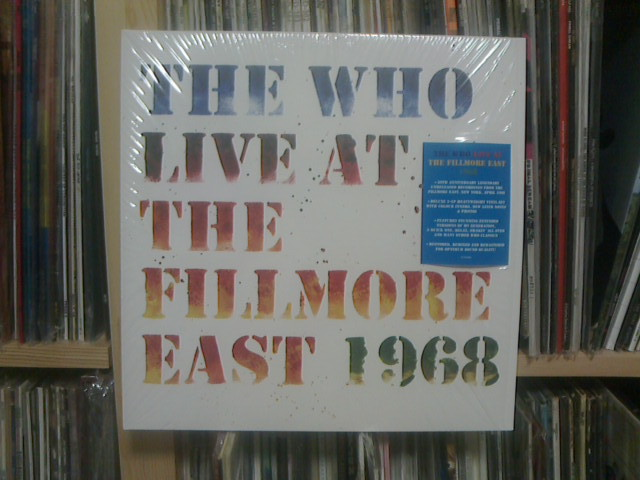 The Who Live At The Fillmore East 1968 / The Who_c0104445_23531634.jpg