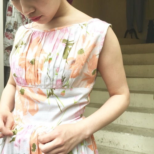 ★NEW ARRIVAL 50S DRESS★_e0148852_18462105.jpeg