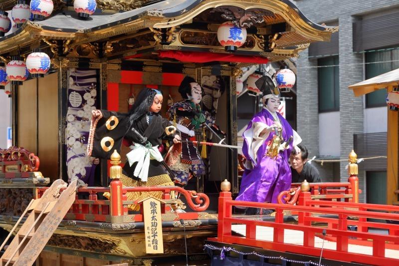 出町子供歌舞伎曳山祭 その3 「絵本太功記」下_c0196076_07275009.jpg