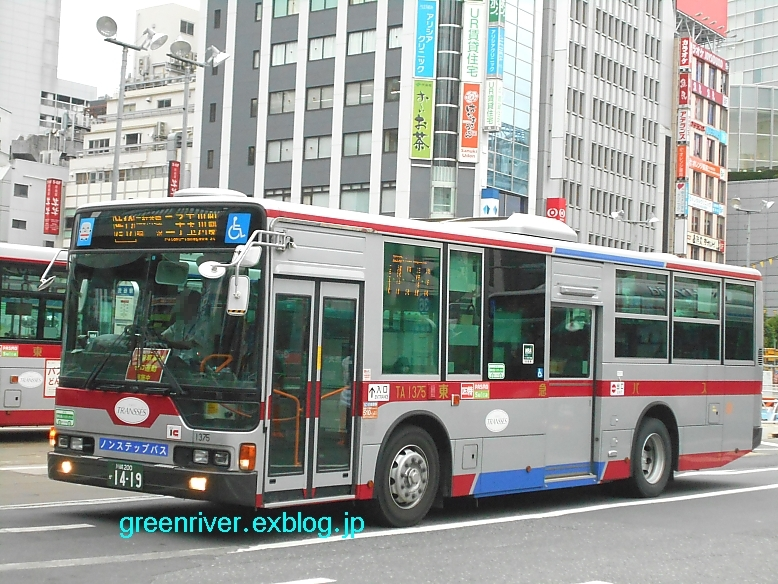 東急バス TA1375_e0004218_20540584.jpg