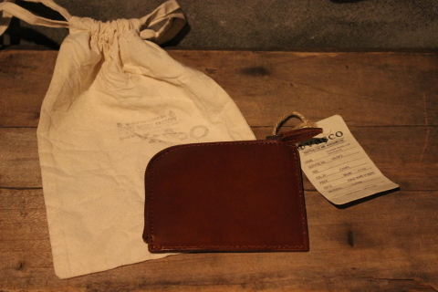 "VASCO 1点物の""LEATHER TRAVEL L-ZIP MINI WALLET\"" ご紹介_f0191324_08322472.jpg"