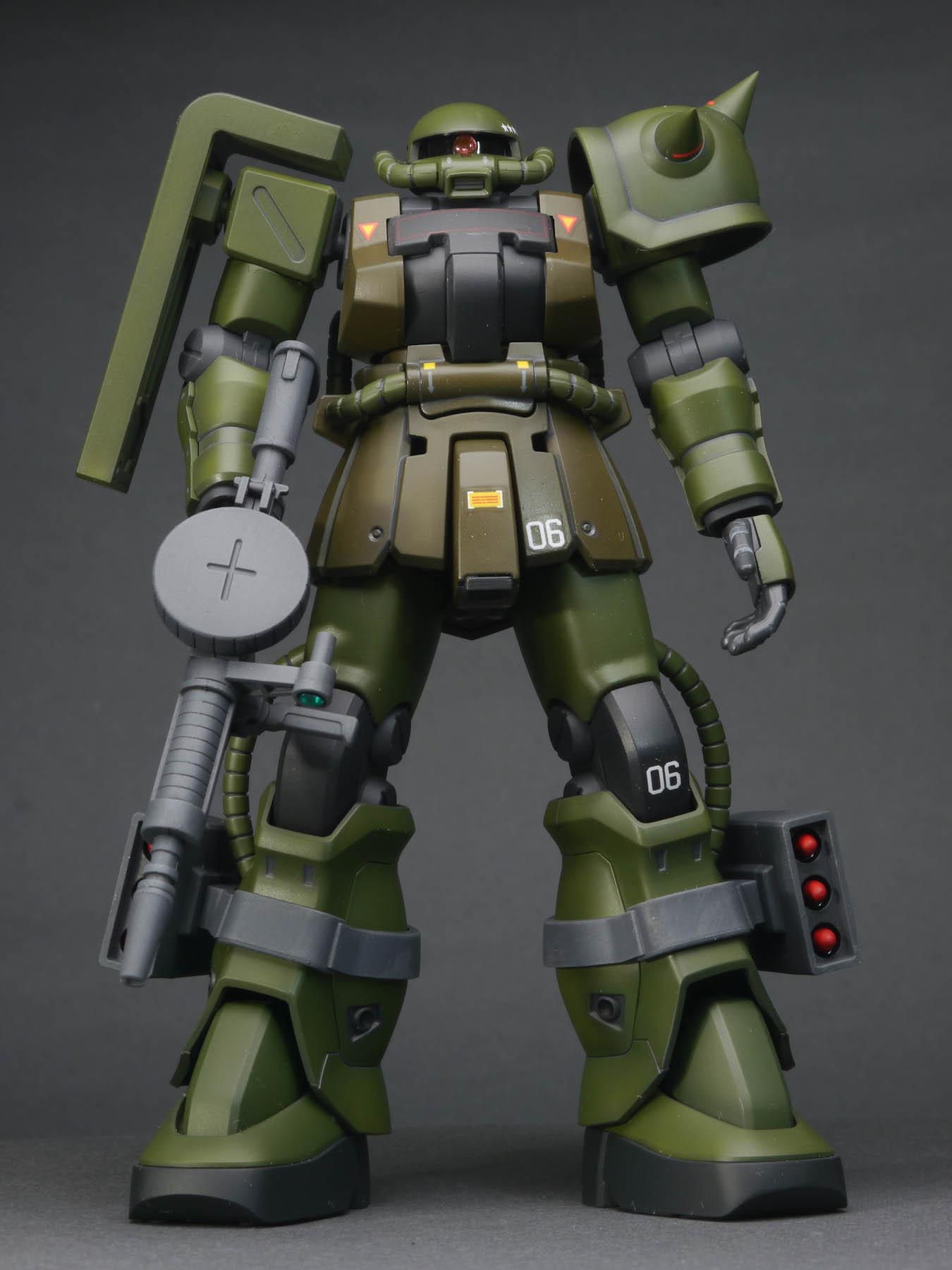 HGUC 1/144 MS-06F-2 ザクII F2型 完成品_c0065927_02084705.jpg