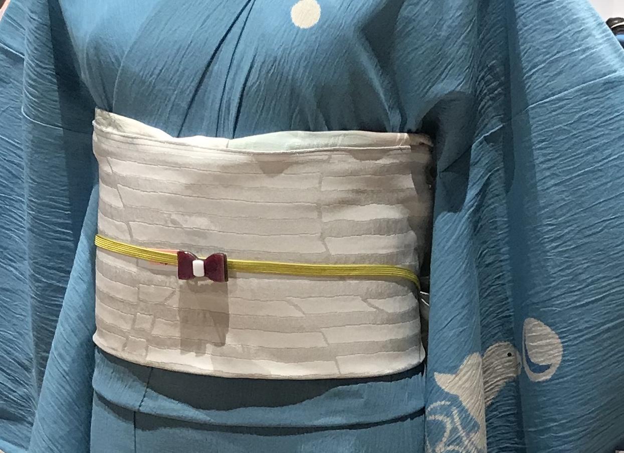 東京キモノショー・お洒落なコーディネイト・兎・象・鶴・・・。_f0181251_16384426.jpg