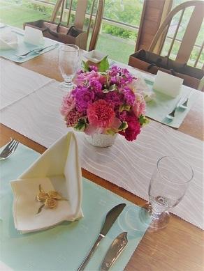 ピンク♪ぴんく♪のウエディング花。_f0054809_10203430.jpg
