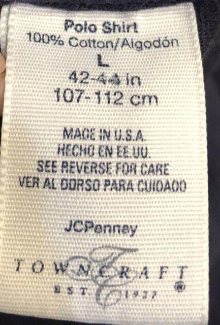 本日入荷!90s〜JC Penny Towncraft all cotton made in U.S.A pocket T-shits!_c0144020_13092269.jpg