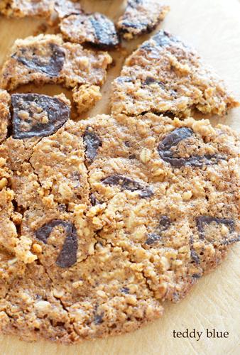 Dear chocolate chip cookies  愛しきチョコチップクッキー_e0253364_17054910.jpg