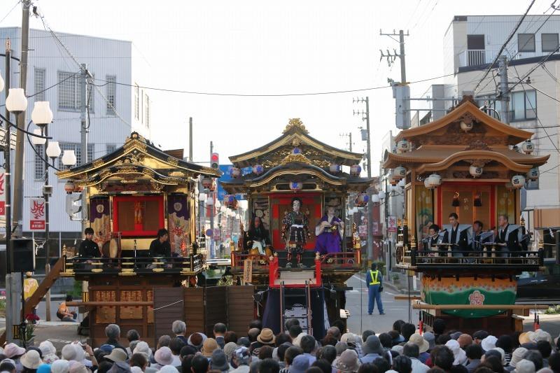 出町子供歌舞伎曳山祭 その4 三町揃い_c0196076_09090515.jpg
