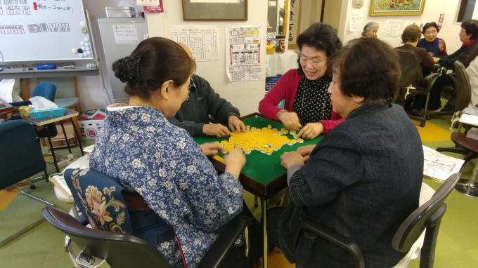 女性ミニ大会に和服美人現る!_b0369489_22232666.jpg