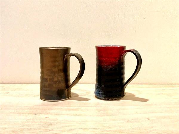 ひとランク上の一杯を丹波焼で…初夏のビアカップ展_e0295731_16535474.jpg
