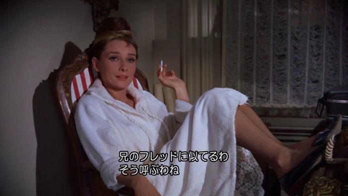 映画のなかのルームウェアにキュン♪ - 「ティファニーで朝食を」_e0219353_14004263.jpg