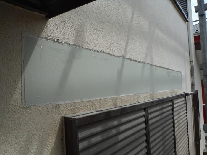屋根・外壁の塗り替え ~ リビング庇を取外し。_d0165368_04245102.jpg