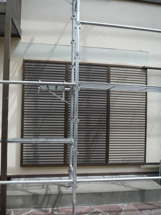 屋根・外壁の塗り替え ~ リビング庇を取外し。_d0165368_04250094.jpg