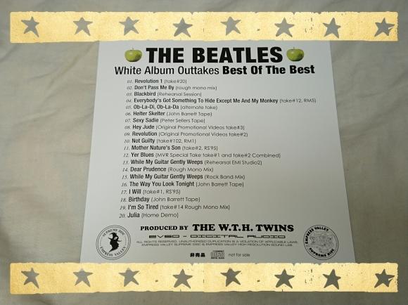 ザ・ビートルズ / ホワイト・アルバム・アウトテイクス・ベスト・オブ・ザ・ベスト_b0042308_17030896.jpg