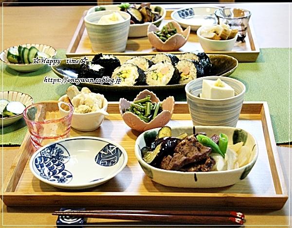 豚肉ピーマン茄子筍の甘辛炒め弁当と今夜はおうち呑み♪_f0348032_18285899.jpg