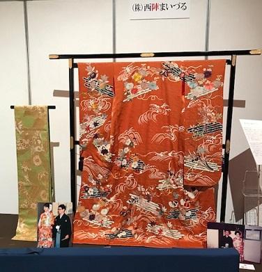 東京キモノショー最終・お宝collection想い出の振袖と帯_f0181251_14222368.jpg