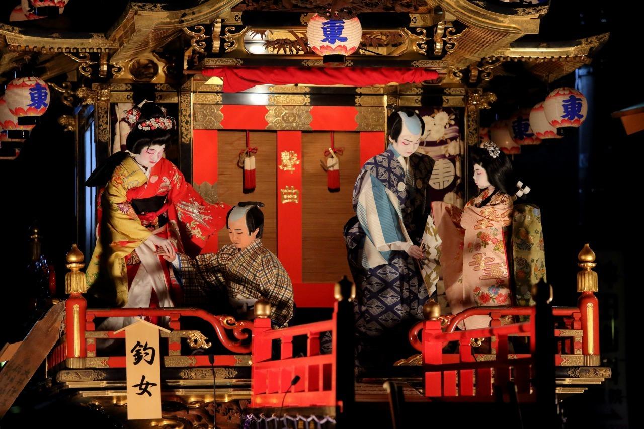 出町子供歌舞伎曳山祭 その5 「釣女」_c0196076_07181782.jpg