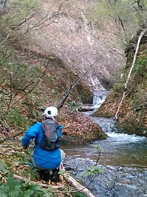 喜多方に流れる河川で釣りをして来ました。_c0160368_19451659.jpg