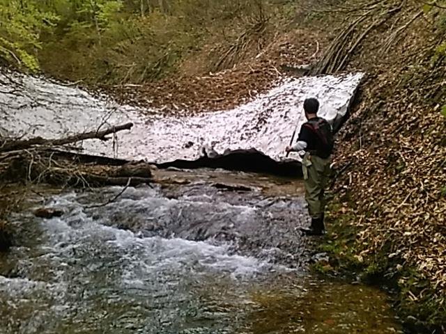 喜多方に流れる河川で釣りをして来ました。_c0160368_19461157.jpg