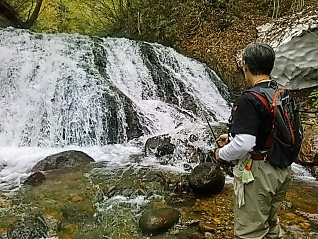 喜多方に流れる河川で釣りをして来ました。_c0160368_19474406.jpg