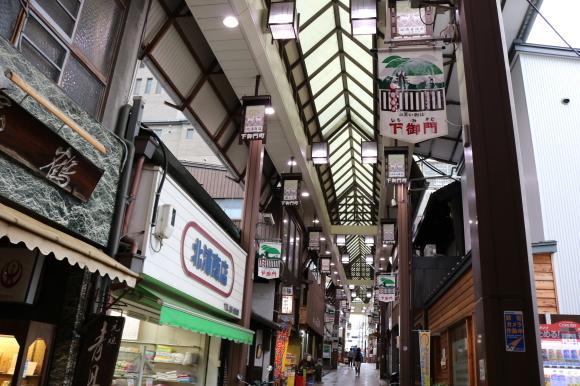 雨の下御門商店街(奈良県奈良市)_c0001670_19513587.jpg