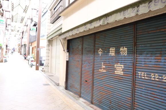 雨の下御門商店街(奈良県奈良市)_c0001670_19585165.jpg
