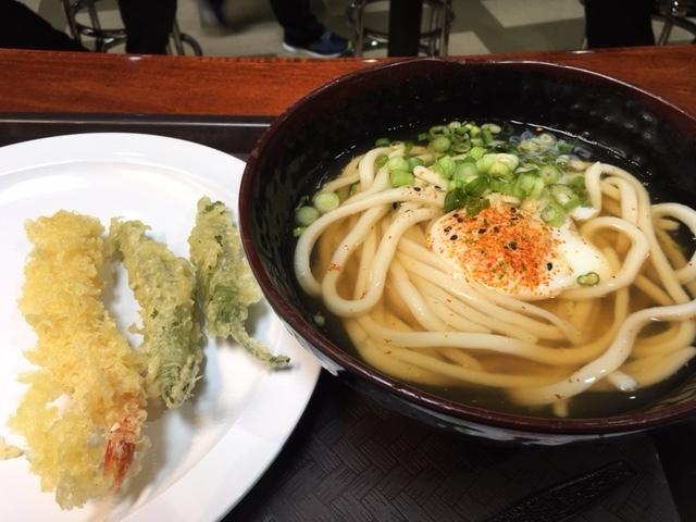 温玉てんぷらうどん、ほうじ茶アイス -今週の日本食_e0350971_09451508.jpg