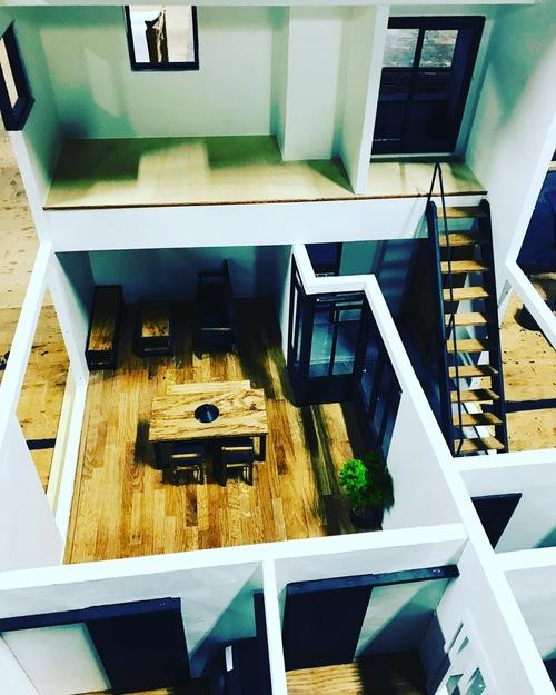 規格住宅 模型製作2_c0180474_2245184.jpg