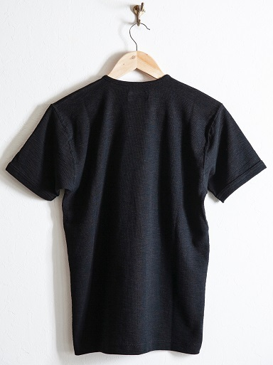 "MATTSONS\'より""SLAB KNIT HENLEY NECK T-SHIRTS\""のご紹介です!!_d0160378_13461090.jpg"