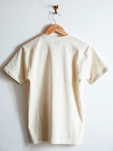 "MATTSONS\'より""SLAB KNIT HENLEY NECK T-SHIRTS\""のご紹介です!!_d0160378_13461918.jpg"