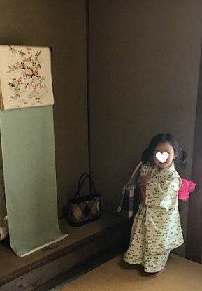 浅見さん単衣・夏襦袢・明日は葵祭・寺崎織物葵の染め帯_f0181251_18452615.jpg