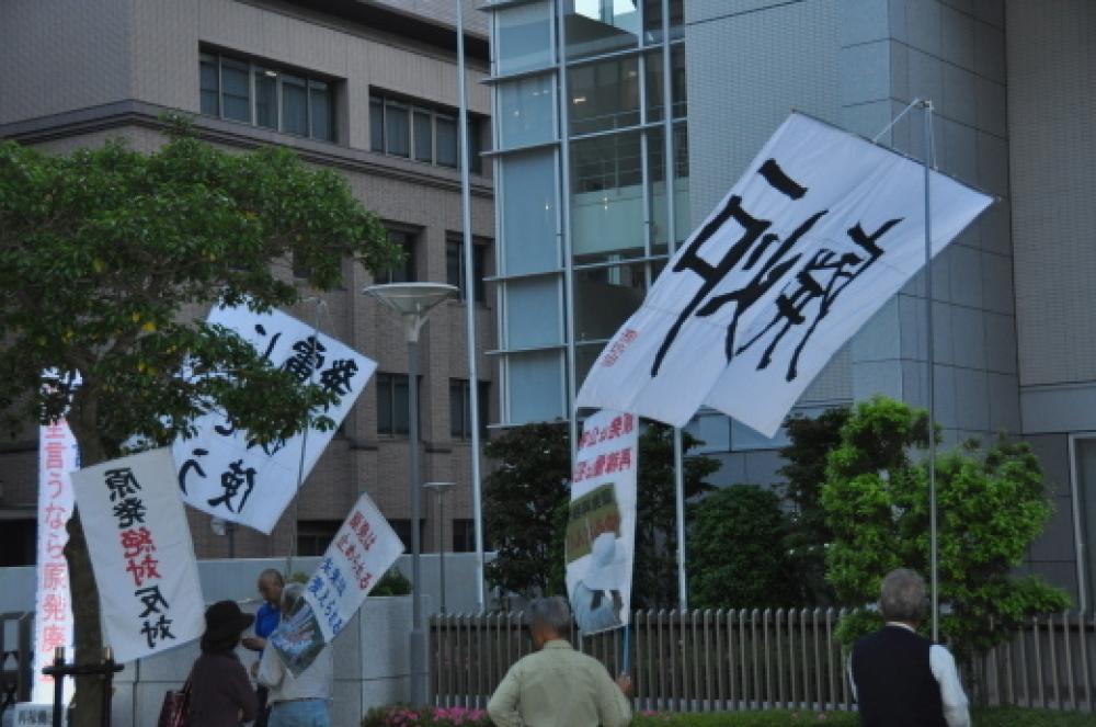 305回目四電本社前再稼働反対抗議レポ 5月11日(金)高松 【伊方原発を止めた。私たちは止まらない。22】 火山灰対策_b0242956_13530498.jpg