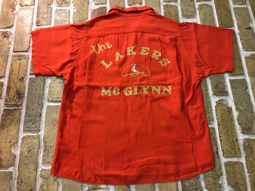 神戸店5/16(水)Vintage&Superior入荷! #4 Vintage Bowling Shirt etc...!!!_c0078587_14375887.jpg