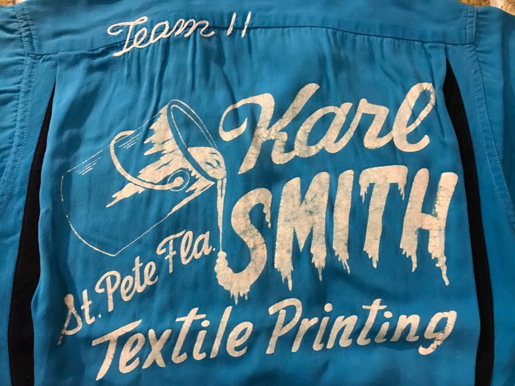 神戸店5/16(水)Vintage&Superior入荷! #4 Vintage Bowling Shirt etc...!!!_c0078587_14385610.jpg