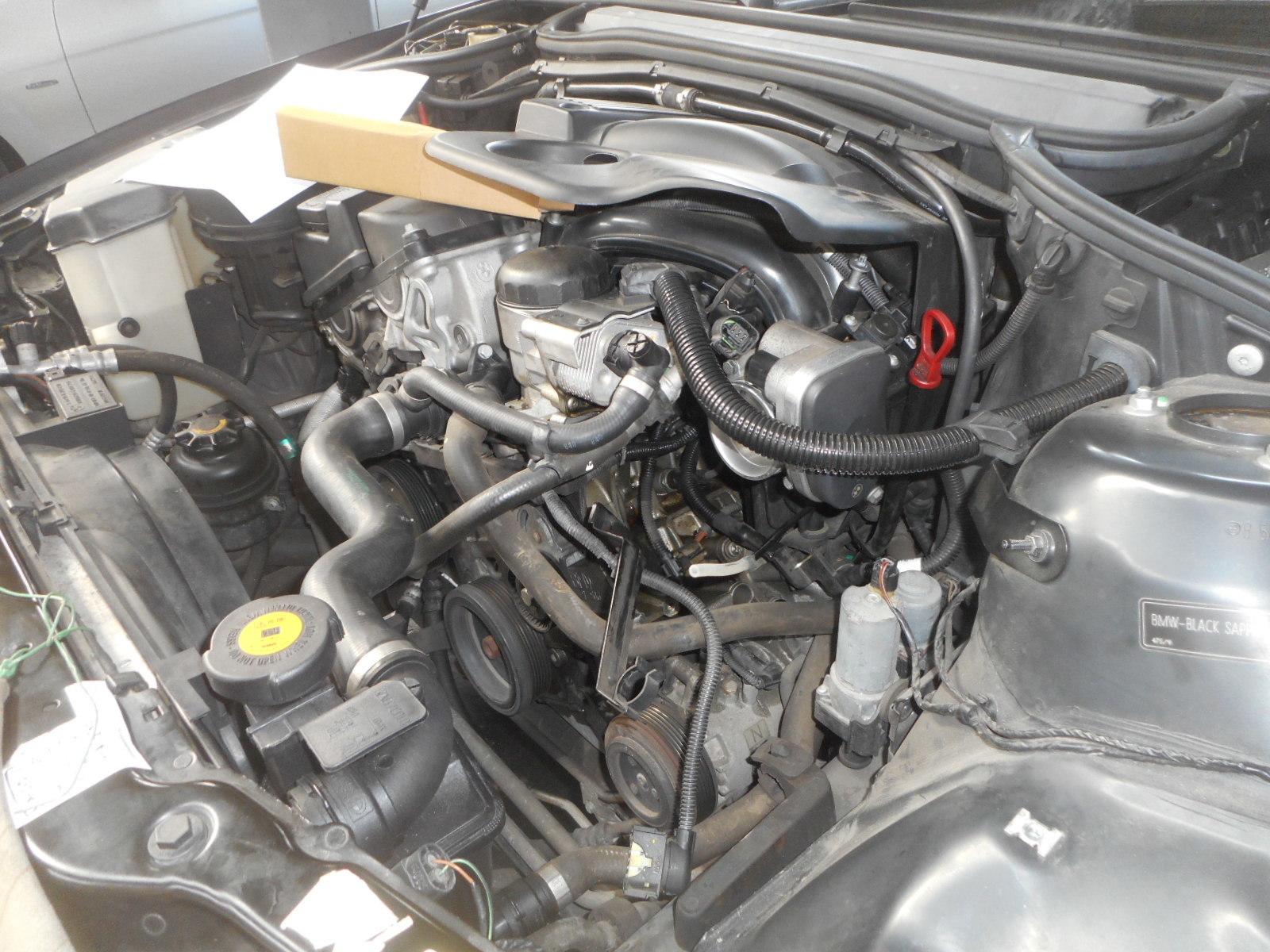 BMW 320i(E46) 充電警告灯点灯 修理(オルタネータ交換)_c0267693_15075001.jpg