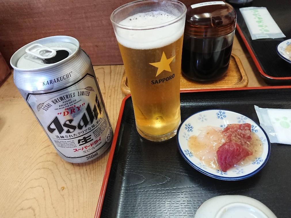 5/14  市場寿司たか  特にぎり + 小肌 & 缶ビール@八王子卸売センター_b0042308_06354802.jpg
