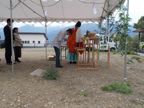 池田町SS邸新築工事始まりました。_c0218716_841464.jpg